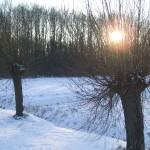 Sneeuw en zon 1